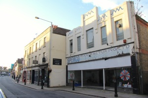 Art Deco INTRA building on Rochester High Street