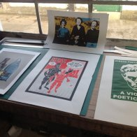 Screen prints from a workshop