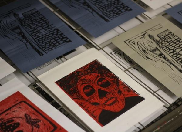 linocut prints
