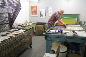 screen printing studio