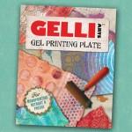 Gelli Arts plate