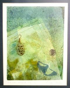 Gelli print by Xtina Lamb