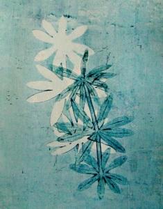 Gelli plant print