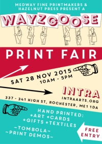 Wayzgoose Print Fair 28 november 2015, 10am - 5pm