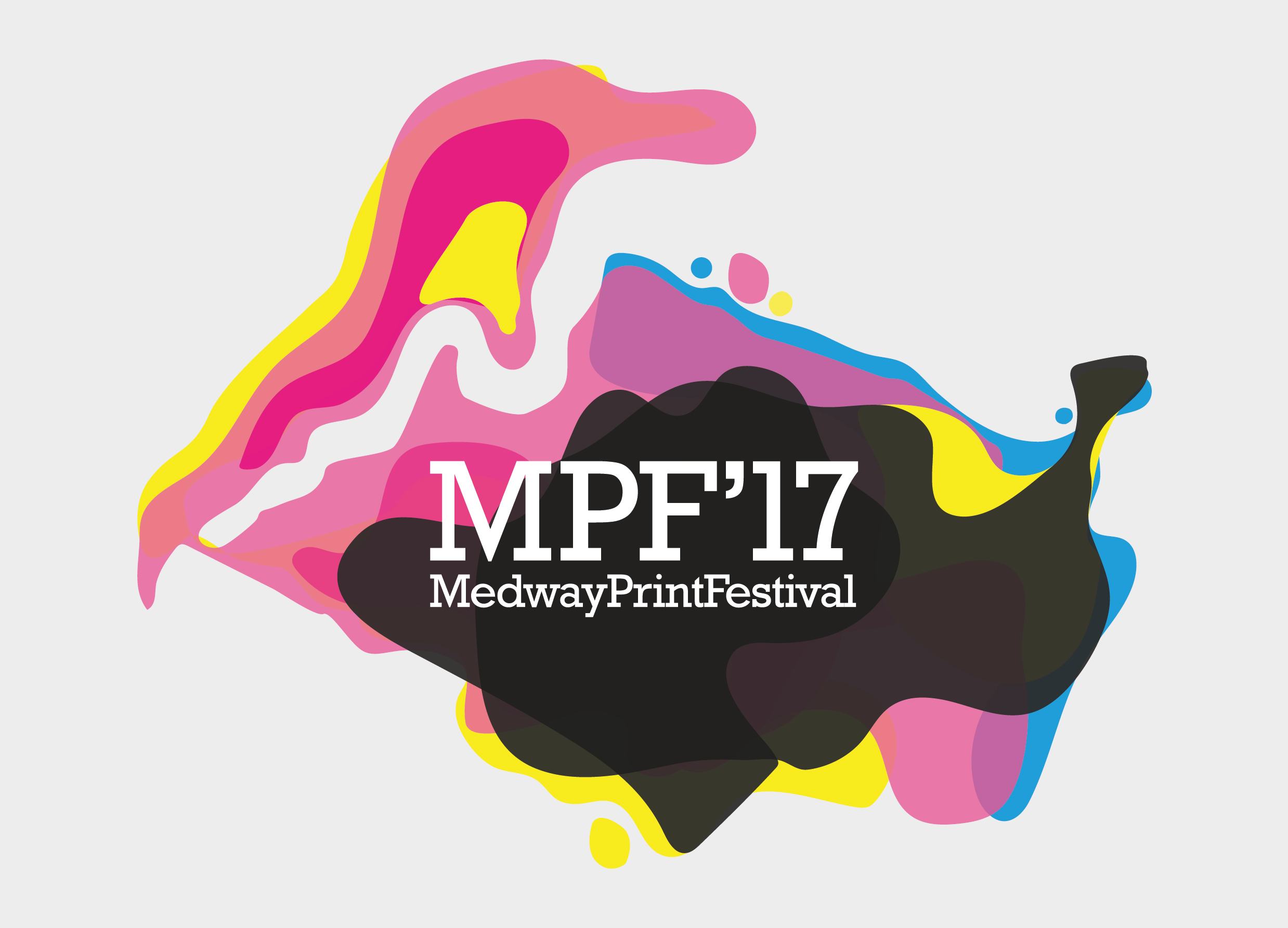 MFP'17 Medway Print Festival logo