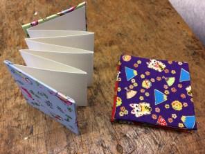 bookbinding - concertina