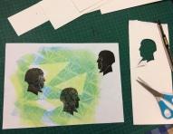 Gelli silhouette 2